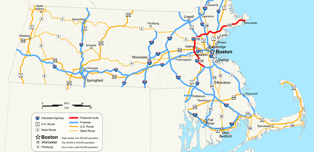 Where Is Boston Located In Massachusetts Locate Massachusetts - Where is massachusetts