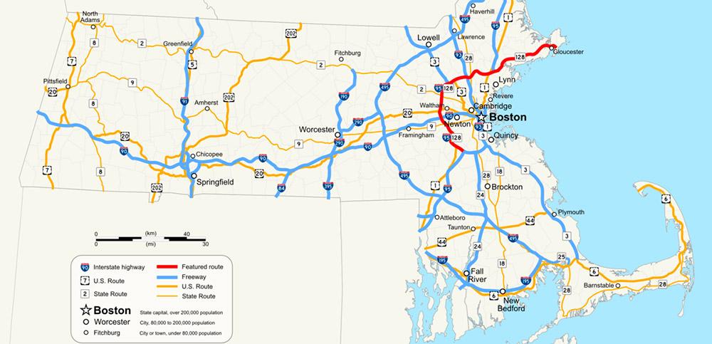 Boston Subway Map To Geography.Where Is Boston Located In Massachusetts Locate Massachusetts