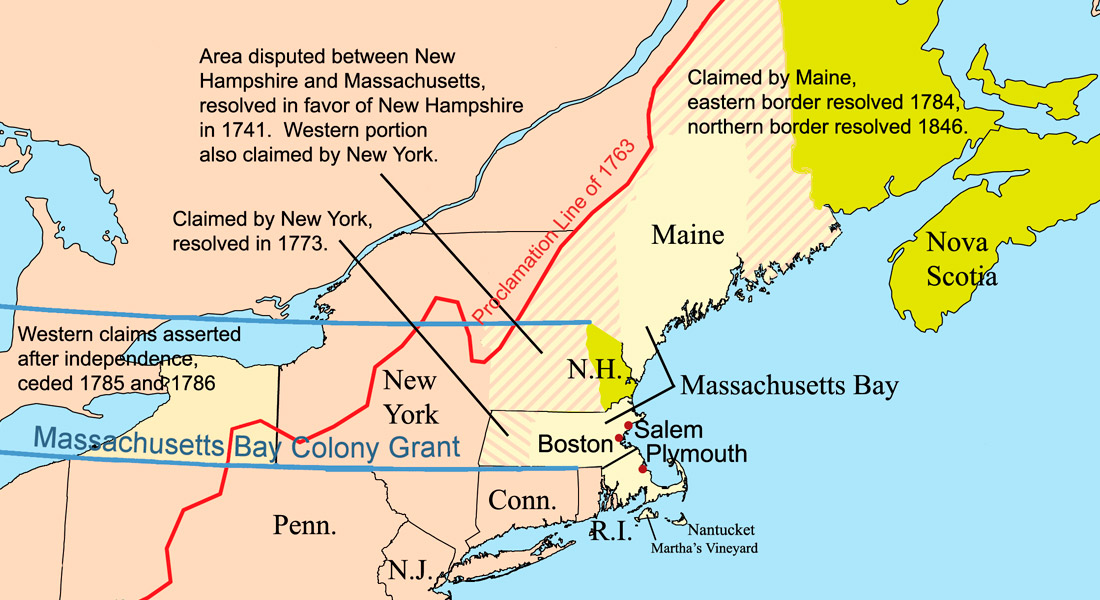 Where Is Massachusetts Bay Colony Located Locate Massachusetts - Where is massachusetts