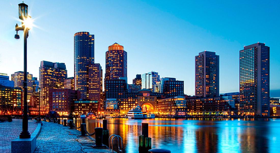 Where is Boston Located in Massachusetts