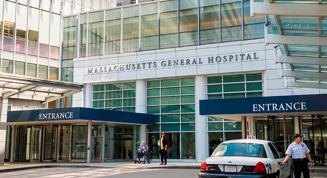 Where is Massachusetts General Hospital located?