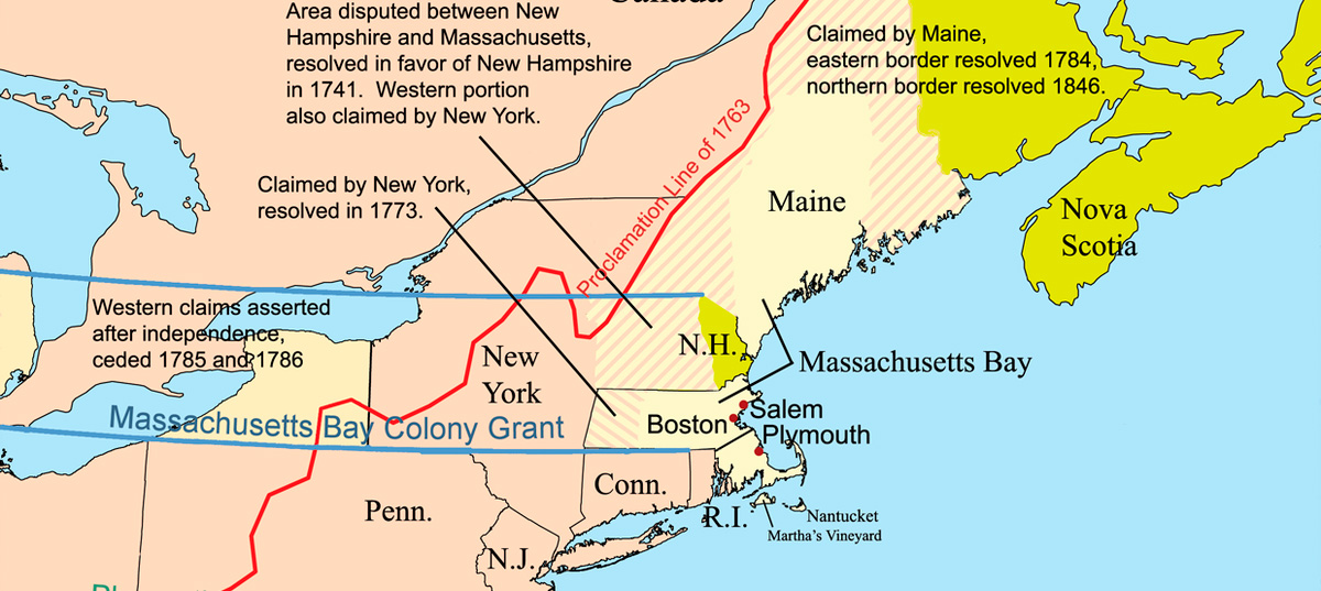 Massachusetts Bay Colony located